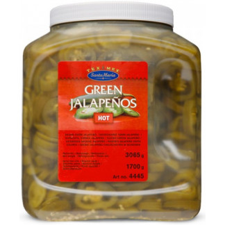 4445 Green Jalapeno Hot